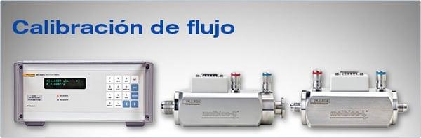 calibración de flujo